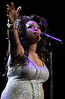 30 Dec 2006 - New York, NY - Jennifer Hudson performs solo for the first time in New York at the Hammerstein Ballroom.   Photo Credit Jackson Lee
