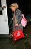 EXCLUSIVE<br /> <br /> 30 Dec 2006 - New York, NY - Christina Aguilera out and about on the streets of NYC minutes after arriving in town.  Photo Credit Jackson Lee