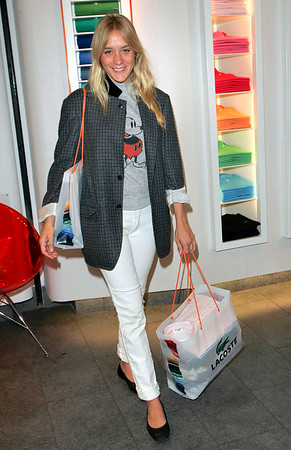 06 Jan 2006 - New York, NY - Chloe Sevigny shops at Lacoste Boutique in Soho, NYC.  Sevigny is the covergirl of the Jan 2007 issue of House and Garden magazine.  Photo Credit Jackson Lee