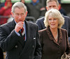 28 Jan 2007 - New York, NY - TRH Prince Charles and Duchess Camilla arrive at Harlem Children's Zone in New York City to promote youth development, urban regeneration and environment conservation.  Photo Credit Jackson Lee<br /> <br /> LJNY MJNY 280107 A