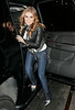 3 Feb 2007 - New York, NY - Carmen Electra departs the 'Rock 'n Republic' fashion show early after realizing that it is starting an hour late.  Photo Credit Jackson Lee<br /> <br /> LJNY CDRLA MJNY