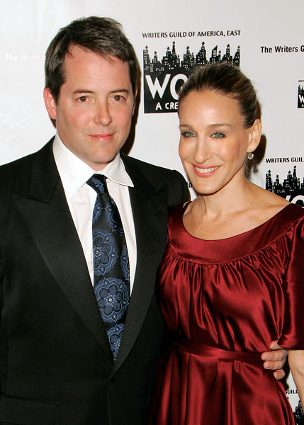 12 Feb 2007 - New York, NY - Matthew Broderick and Sarah Jessica Parker at The 59th Annual Writers Guild of America Awards Ceremony - Arrivals.  Photo Credit Jackson Lee