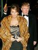13 Feb 2007 - New York, NY - Donald Trump and Melania Trump at Stephen Schwartzman's Birthday Celebration at the Park Avenue Armory.  Photo Credit Jackson Lee
