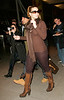 17 Feb 2007 - New York, NY - Mariah Carey arrives at JFK airport in NYC.  Photo Credit Jackson Lee