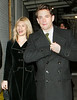 NO US SALES <br /> 22 Feb 2007 - New York, NY - Claire Danes and Hugh Dancy depart the Belasco Theatre after finishing his debut performance in 'Journey's End'.  Photo Credit Jackson Lee<br /> <br /> Jackson Lee<br /> 48-04 Springfield Blvd.<br /> Oakland Gardens, NY 11364<br /> 718-908-7031