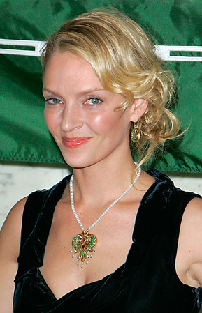 1 March 2007 - New York, NY - Uma Thurman attends 2007 Wings Worldquest Awards honoring Jane Goodall.  Photo Credit Jackson Lee