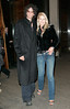 2 March 2007 - New York, NY - Howard Stern and Beth Ostrosky, who are recently engaged, are out for dinner in Midtown.  Photo Credit Jackson Lee