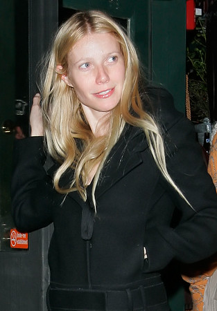 09 March 2006 - New York, NY -  Gwyneth Paltrow joins Beyonce and Jay-Z for dinner in lower Manhattan.  Photo Credit Jackson Lee/Jennifer Mitchell