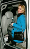 18 March 2006 - New York, NY - Lindsay Lohan is all smiles as she navigates the slippery streets of NYC for the seventh night of clubbing.  Photo Credit Jackson Lee