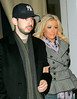 *** EXCLUSIVE ***<br /> 22 March 2006 - New York, NY - Christina Aguilera and Jordan Bratman out and about.  Photo Credit Jackson Lee