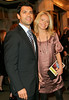 22 March 2006 - New York, NY - Kelly Ripa and Mark Consuelos exit the new Broadway show 'Curtains'.  Photo Credit Jackson Lee