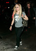 14 April 2007 - New York, NY - Avril Lavigne at the afterparty for her appearance on Saturday Night Live at Havana.  Photo Credit Jackson Lee
