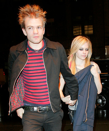 14 April 2007 - New York, NY - Avril Lavigne and Deryck Whibley at the afterparty for her appearance on Saturday Night Live at Havana.  Photo Credit Jackson Lee