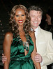 24 April 2007 - New York, NY - Iman and David Bowie at the 6th Annual Tribeca Film Festival - Vanity Fair Party.  Photo Credit Jackson Lee