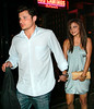 12 June 2007 - New York, NY - Nick Lachey and Vanessa Minnillo out and about after a romantic dinner at Dos Caminos.  Photo Credit Jackson Lee
