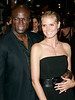 20 June 2007 - New York, NY - Heidi Klum and Seal at Lorraine Schwartz launch party for her diamond monkey collection at the redesigned Monkey Bar.  Photo Credit Jackson Lee