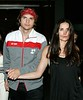 26 June 2007 - New York, NY - Demi Moore, Ashton Kutcher at Butter for a night of partying.  Photo Credit Jackson Lee