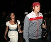26 June 2007 - New York, NY - Ashton Kutcher and Penelope Cruz at Butter for a night of partying.  Photo Credit Jackson Lee