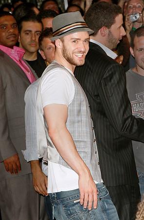 18 July 2007 - New York, NY - Justin Timberlake at the Grand Opening of his new restaurant/bar 'Southern Hospitality'.  Photo Credit Jackson Lee