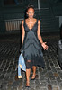 EXCLUSIVE<br /> 18 July 2007 - New York, NY - Naomi Campbell in a sexy lace black dress and hair tied up in a bun while out and about in NYC.  Photo Credit Ahmad Elatab/Jackson Lee