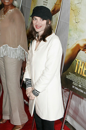 23 July 2007 - New York, NY - Winona Ryder at the NY Premiere of 'The Ten'.  Photo Credit Jackson Lee