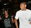 31 July 2007 - New York, NY - Usher and Tameka Foster announces that their recently cancelled wedding is still on as they depart their hotel.  Photo Credit Jackson Lee <br /> LJNY AENY WJNY MACNY