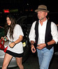 2 Aug 2007 - New York, NY - Bruce Willis and daughter Scout LaRue Willis out and about in NYC.  Photo Credit Jackson Lee