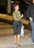 EXCLUSIVE<br /> 7 Aug 2007 - New York, NY - A gleeful Paula Abdul arrives to NYC from LA.  She signs autographs and texts on her Blackberry phone as she waits for her luggage.  Photo Credit Jackson Lee<br /> NO US SALES