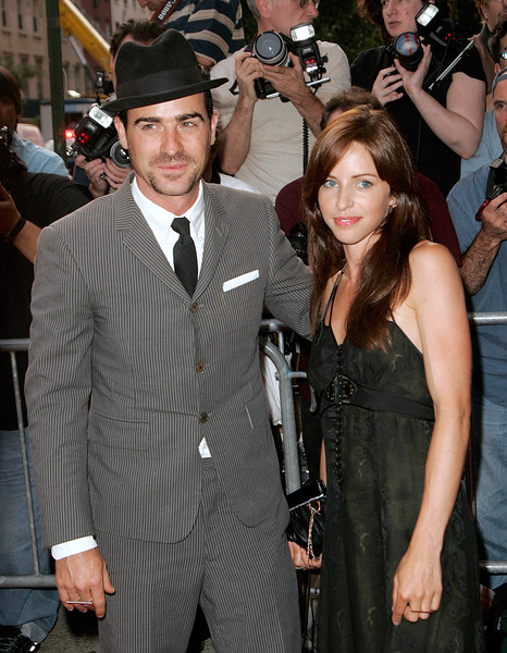 14 Aug 2007 - New York, NY - Justin Theroux and guest at the NY Premiere of 'Dedication' at Chelsea West Cinema.  Photo Credit Jackson Lee