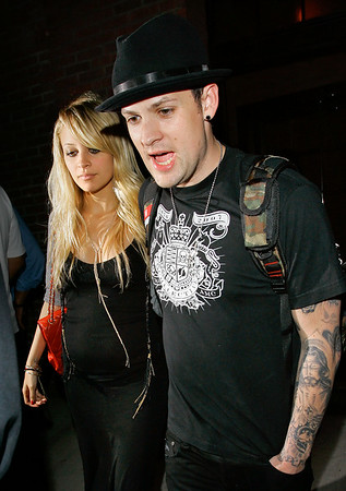 EXCLUSIVE 15 Aug 2007 - New York, NY - Nicole Richie and Joel Madden out and about in NYC.  Photo Credit Jackson Lee