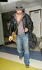 28 Aug 2007 - New York, NY - Colin Farrell arrives to NYC from LA at JFK Airport.  Photo Credit Jackson Lee/Ahmad Elatab