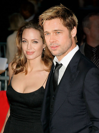 17 Sept 2007 - New York, NY - Angelina Jolie and Brad Pitt at the NY Premiere of 'The Assassination of Jesse James by the Coward Robert Ford'.   Photo Credit Jackson Lee