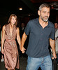 20 Sept 2007 - New York, NY - George Clooney and new girlfriend out and about in NYC.   Photo Credit Jackson Lee