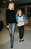 Melanie Griffith and daughter Stella Bandaras arrive in NYC