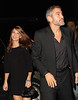 George Clooney and Sarah Larson out for dinner in NYC