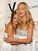 Eva Mendes and Petra Nemcova at Petra Nemcova's Happy Hearts Fund Heart of Gold Ball