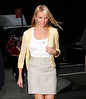 Cameron Diaz has two changes of clothing while filming 'What happens in Vegas'