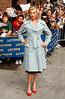 Rebecca Romijn at the 'Late Show with David Letterman' at the Ed Sullivan Theatre