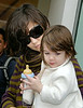 Katie Holmes and Suri Cruise out window shopping in NYC