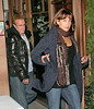 2007 Nov 04 - Exclusive: Christopher Lambert and Sophie Marceau out for a romantic dinner at Nello in NYC.  The couple were seen kissing and canoodling while having dinner.  Photo Credit: Lee/Schwartzwald/Splash News<br /> <br /> Jackson Lee<br /> 718-908-7031<br /> me@jacksonleephoto.com