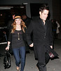 Hilary Duff and boyfriend Mike Comrie arrive at Butter in NYC