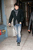 John Mayer arrive at Butter in NYC