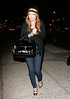 Hilary Duff arrives at Butter in NYC