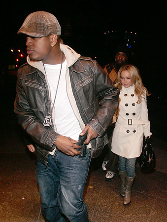 Hayden Panettiere and Neo go back to the same hotel after partying at Butter