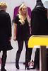 Lindsay Lohan shops with her mom Dina Lohan and publicist Leslie Sloane Zelnick at Kirna Zabete in Soho, NYC