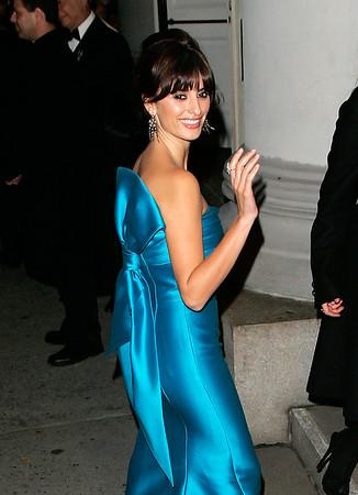 Penelope Cruz at Queen Sophia's Gold Medal Gala in New York