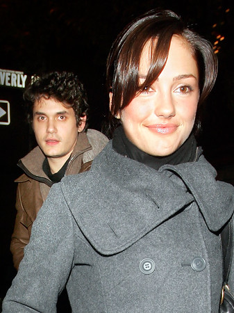 """John Mayer and Minka Kelly replies to question about Cameron Diaz when out for dinner at Waverly Inn and clubbing at Butter in NYC.  He thought it was """"tasteful"""" when asked on video if he thought Cameron Diaz's 'Body is a Wonderland'.  In response our cameraman sang his hit song """"Your body is a wonderland"""", to which he replied, """"You should go on stage""""."""