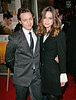Keira Knightley and James McAvoy at a special screening of 'Atonement' at the IFC Center in NYC