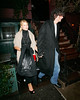 5 Jan 2008 - New York, NY - Beth Ostrosky and Howard Stern out for dinner at Waverly Inn.   Photo Credit Jackson Lee