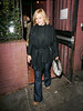7 Jan 2008 - New York, NY - Patricia Arquette out for dinner at the Waverly Inn.   Photo Credit Jackson Lee